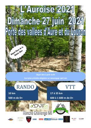 Affiche L'Auroise 2021 - 27 June