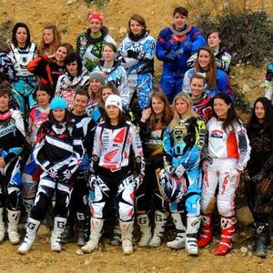 1ère épreuve du Chpt de France MX Féminin - 9/10 March 2013