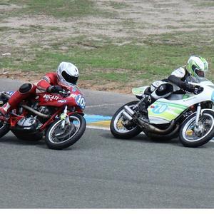 Chpt de France Vitesse Motos Anciennes - Le Mans (72) - 19/20 July 2014