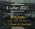 Rogaining Larzac - Biathlon CO - 3 July