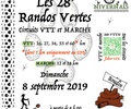 29 éme Randos Vertes - 6 September