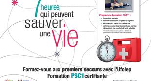 Formation PSC1 - UFOLEP Ardèche