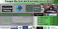 Coupe du Var de Karting Loisir Manche 3 Brignoles - 1 November